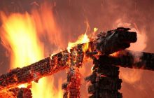 Классика жанра: партизаны сжигают мосты