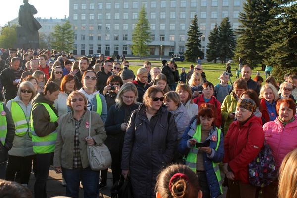 Поморье становится похожим не на Болотную, а на Майдан