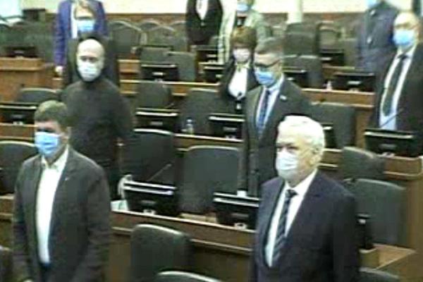Парламент Карелии «самоизолировался»
