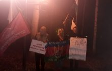 В Томске задержаны участники Сибирского антиимперского марша