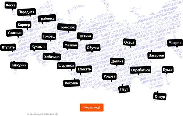 Русский язык становится регионально разнообразным